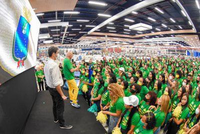 Prefeito Eduardo Braide participa de inauguração da loja Havan, em São Luís . Foto: Kayo Sousa
